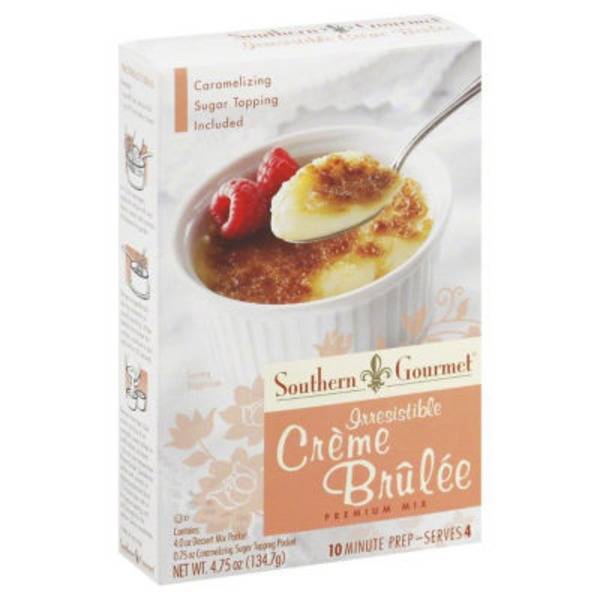 Simply Southern Gourmet Premium Mix Irresistible Creme Brulee