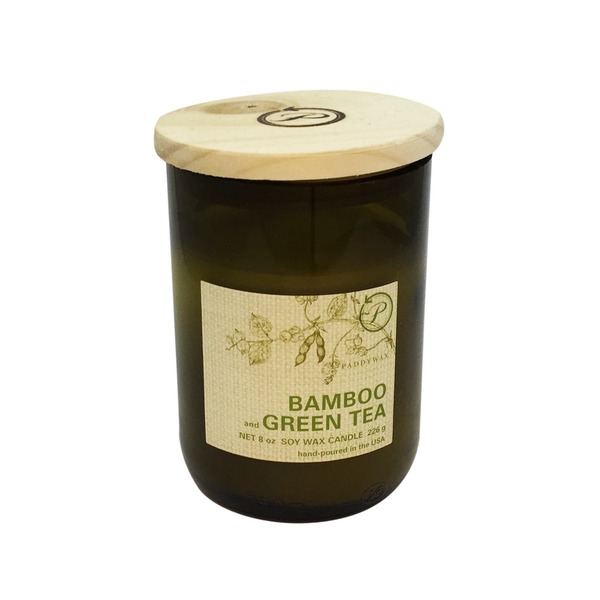 Paddywax Bamboo And Green Tea Soy Wax Candle