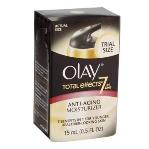 Olay Total Effects Olay Total Effects 7-in-1 Anti-Aging Moisturizer, Trial Size 0.5 fl oz Female Skin Care