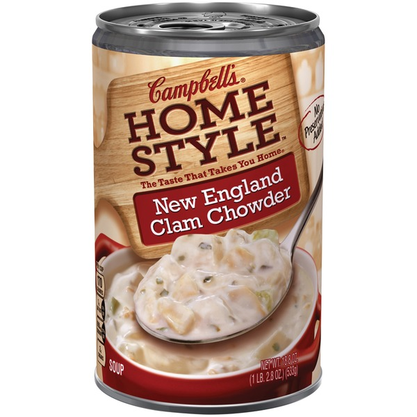 Campbell's Homestyle New England Clam Chowder Soup