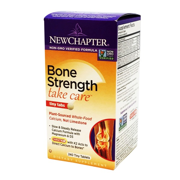 New Chapter Bone Strength Tiny Tabs