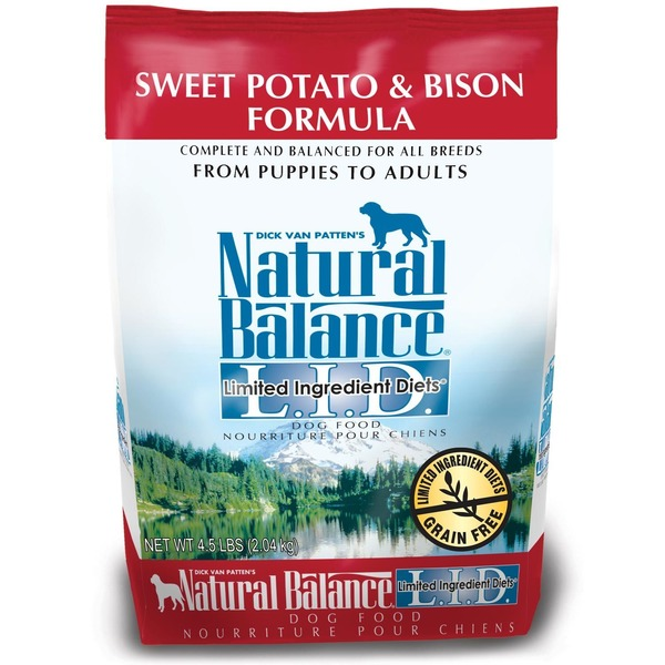 Dick Van Patten's Natural Balance Limited Ingredients Diets Sweet Potato & Bison Formula Dog Food