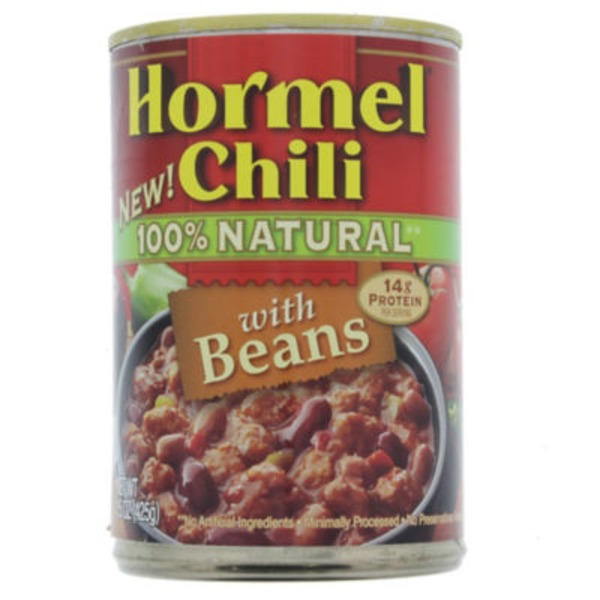 Hormel 100% Natural with Beans Chili