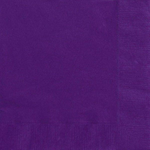 Unique Purple Napkins
