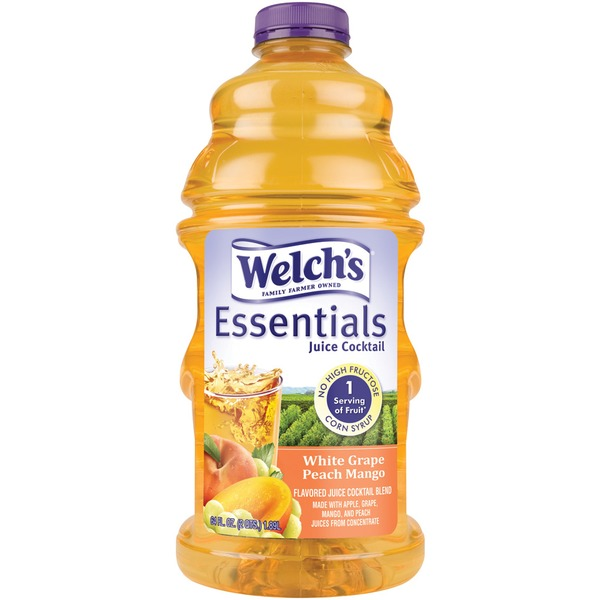 Welch's Essentials White Grape Peach Mango Juice Cocktail