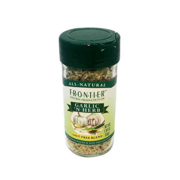 Frontier Garlic 'N Herb Seasoning