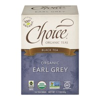 Choice Organic Teas Black Tea Earl Grey - 16 CT