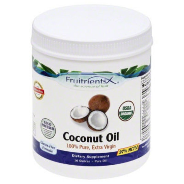 FruitrientsX 100% Pure Extra Virgin Coconut Oil