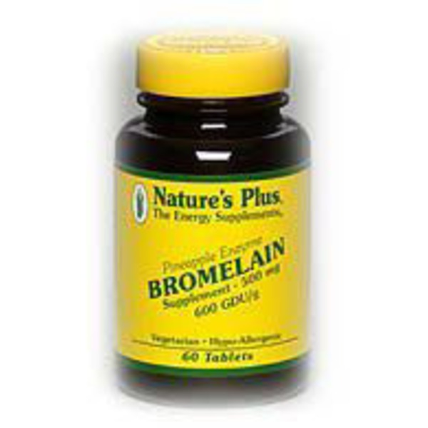 Nature's Plus Bromelain 500 Mg Tablets