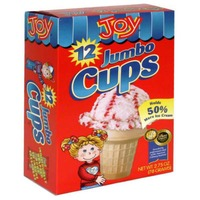 Joy Jumbo Cups - 12 CT