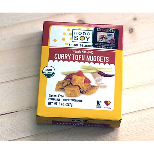 Hodo Soy Organic Thai Curry Tofu Nuggets