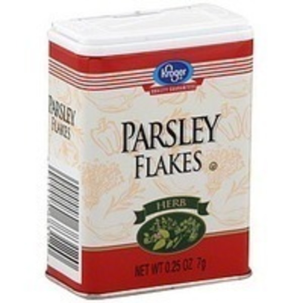 Kroger Parsley Flakes
