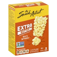The Snack Artist Popcorn Microwave Extra Butter - 3