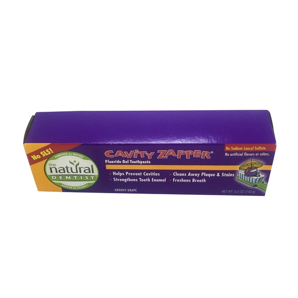 The Natural Dentist Cavity Zapper Toothpaste