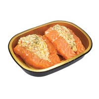 H-E-B Entree Simple Stuffed Salmon For Two