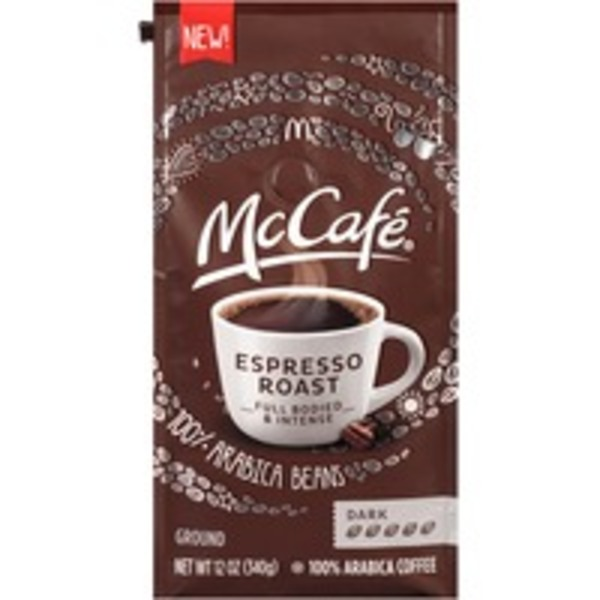 McCafe Espresso Roast Ground Coffee
