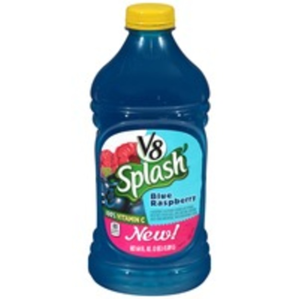 V8 Splash Blue Raspberry Juice Drink