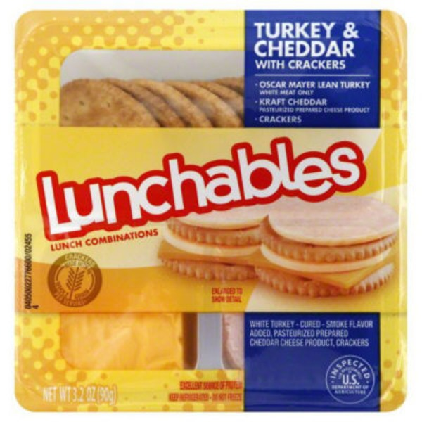Oscar Mayer Lunchables Turkey & Cheddar with Crackers