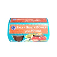Kroger Fire Roasted Salsa Snack Bowls