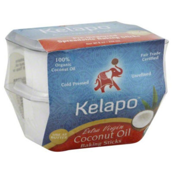 Kelapo Extra Virgin Coconut Oil Baking Sticks