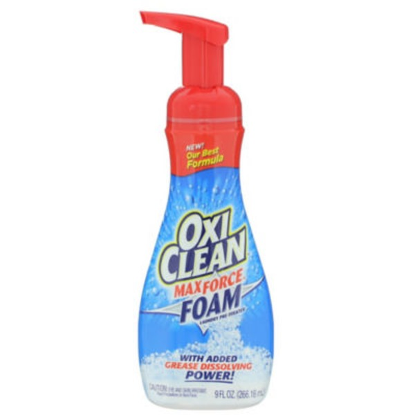 Oxi Clean Max Force Foam Laundry Pre-Treater