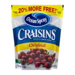 Ocean Spray Craisins Original, 12.0 OZ