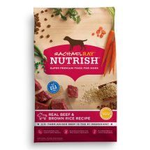 Rachael Ray Nutrish Natural Dry Dog Food, Real Beef and Brown Rice Recipe, 6 lbs