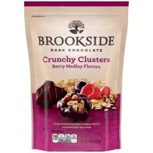 BROOKSIDE Dark Chocolate Crunchy Clusters Berry Medley Flavors, 15 oz