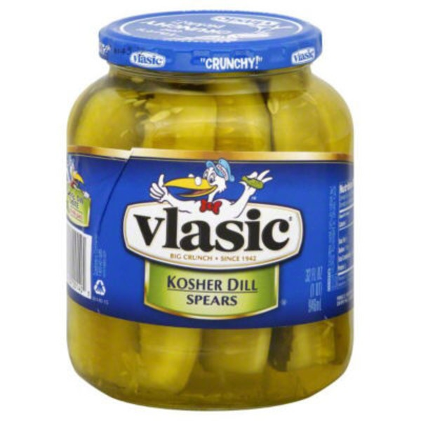Vlasic Dill Spears Kosher Pickles