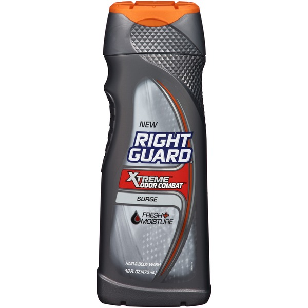 Right Guard Xtreme Odor Combat Surge Hair & Body Wash