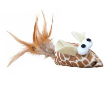 Multipet Feather Tail Lattice Ball Cat Toy