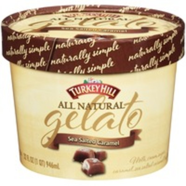 Turkey Hill All Natural Sea Salted Caramel Gelato