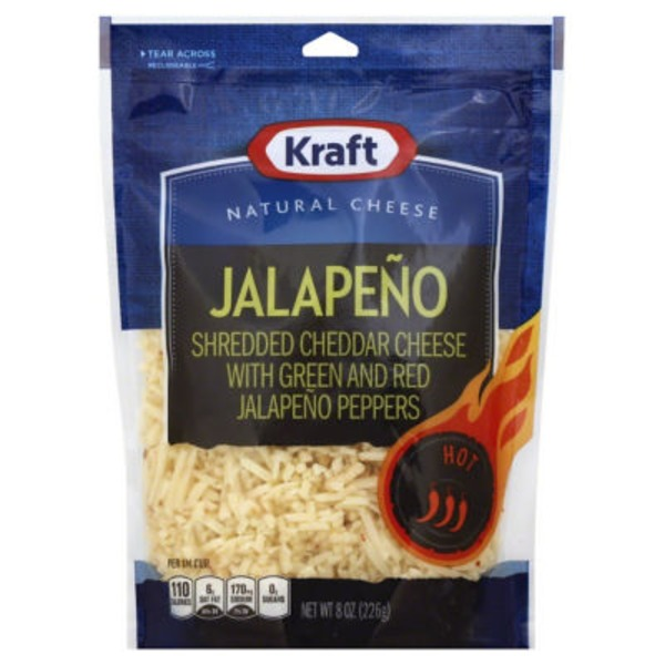 Shredded Jalapeno Cheese