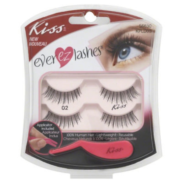 Kiss Ever EZ Lashes Double Pack 02