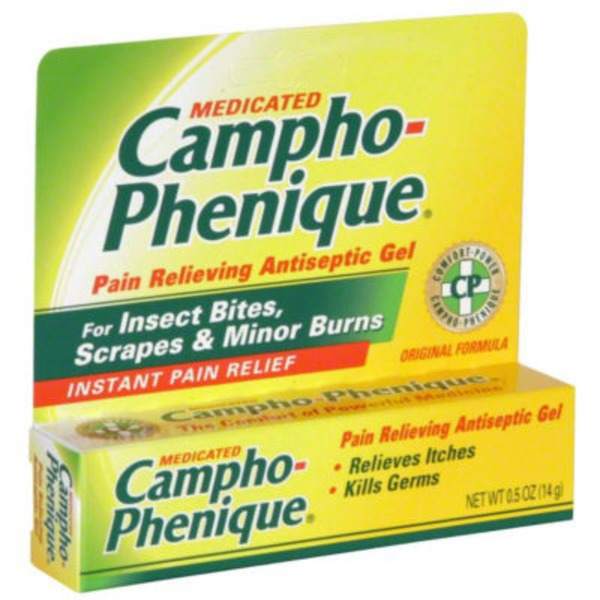 Campho Phenique Pain & Itch Relief Medicated Antiseptic Gel
