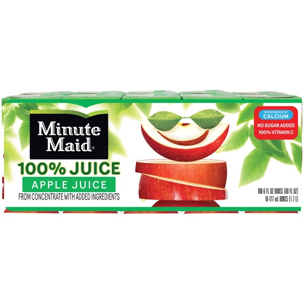 Minute Maid Apple 100% Juice