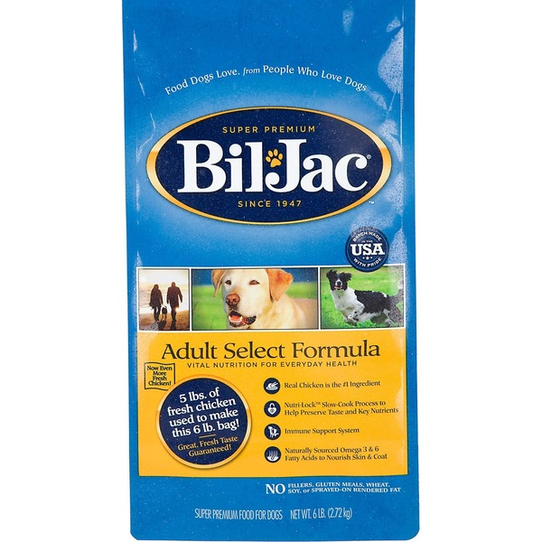 BilJac Adult Select Formula Dog Food
