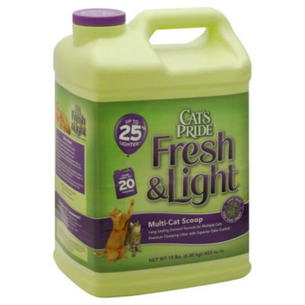 Cat's Pride Fresh & Light® Quick Action Scented Multi-Cat Scoop Litter Cat Litter