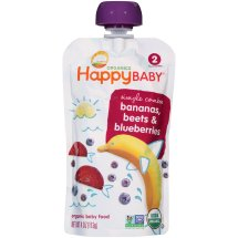 HappyBaby Organics Simple Combos Bananas, Beets & Blueberries 2, 4.0 OZ