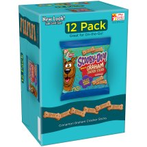 Keebler Scooby Doo! Baked Graham Cracker Sticks - Cinnamon, 1 Ounce Packages, 12 Count