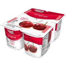Great Value Original Cherry Lowfat Yogurt