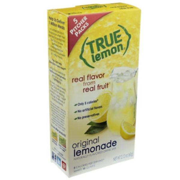 True Lemon Lemonade Powder Drink Mix
