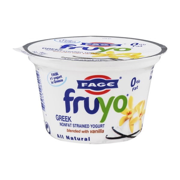 Fage Fruyo Greek Nonfat Strained Yogurt Vanilla