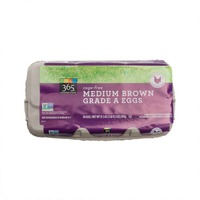 365 Cage Free Non Gmo Fed Medium Brown Grade A Eggs