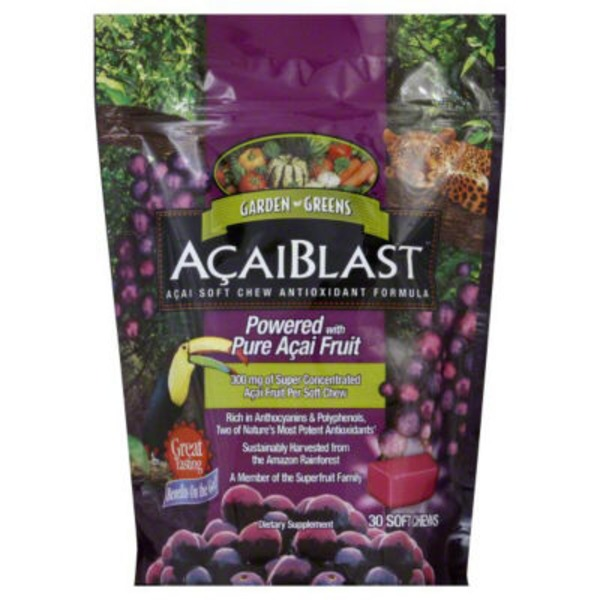 Garden Greens AcaiBlast Acai Soft Chews