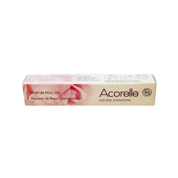 Acorelle Silky Rose Roll On Perfume