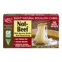 Edward & Sons Not-Beef Bouillon Cubes - 8 CT