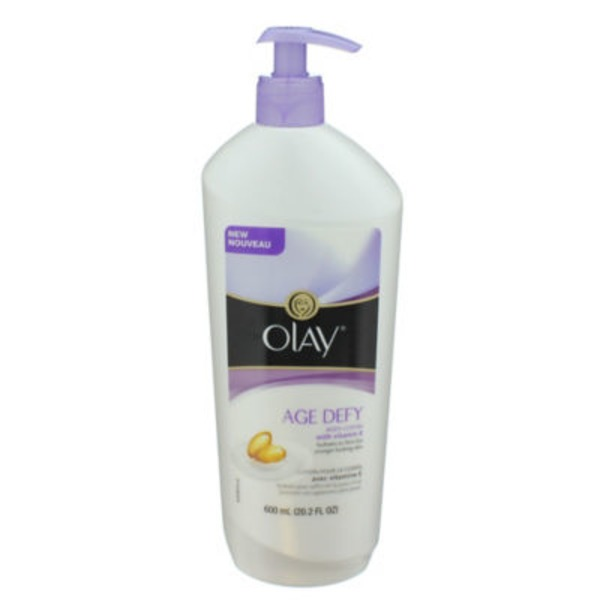 Olay Age Defy Body Lotion 20.2 oz. pump Personal Cleansing
