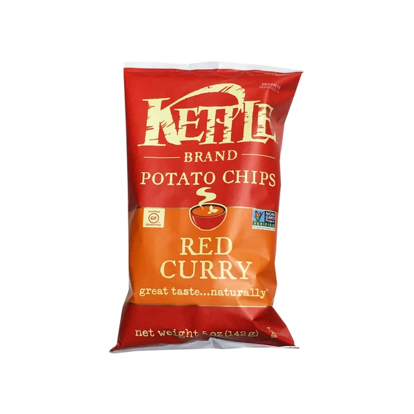 Kettle Potato Chips, Red Curry