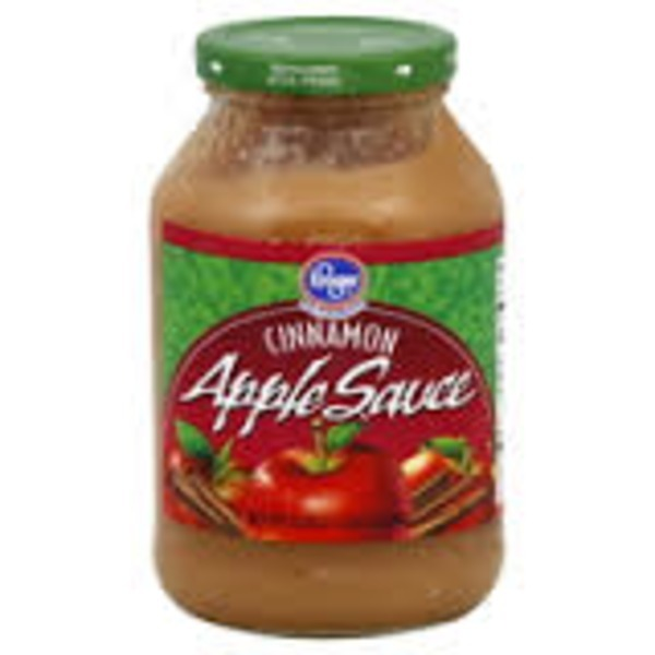 Kroger Apple Sauce Cinnamon